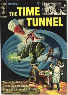The Time Tunnel Irwin Allen Gold Key Comics 1966 1