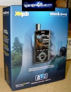 XM XMP3i Portable Satellite Radio System MP3 W Home kit XPMP3 H1