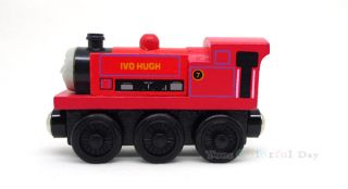 Ivo Hugh Thomas Tank Engine Wooden Railway Train New