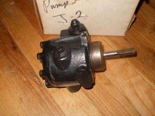 Sundstrand Two Stage J 2 Oil Burner Pump