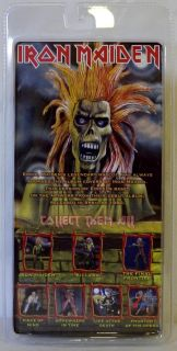 Iron Maiden Debut Album Cover Eddie Figure NECA McFarlane