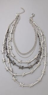 Deviated by Justin Giunta Barb Wire Necklace