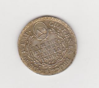 Costa Rica Guatemala El Salvador Proclama Iturbide 1822 VERY RARE