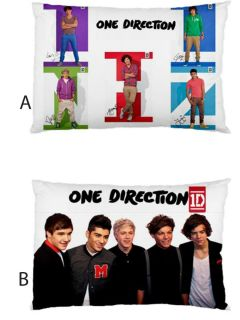 1D One Direction Harry Styles Louis Tomlinson Zayn Malik Pillow Case