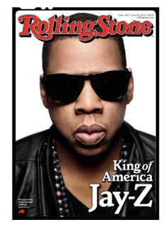 Jay Z Rolling Stone Cover Poster King of America