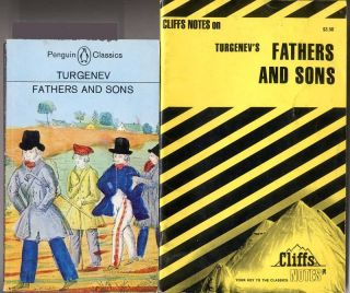 Fathers and Sons by Ivan s Turgenev Cliff Notes Study Guide Free