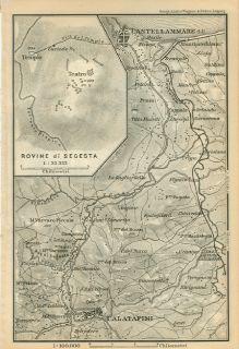 Italy Map Castellmmare Cataltafimi Rovine Di Selinunte