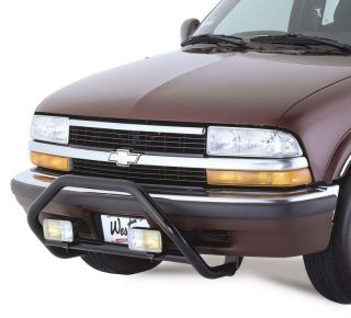 Westin 1998 2003 Isuzu Hombre Blk Grille Guard Push Bar Bull Safari