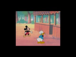 Disneys Mickey Mouse and Donald Duck Animation Production Cel