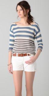 Splendid Beach House Striped Sweater