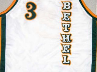 Allen Iverson Bethel High School White Jersey New Any Size