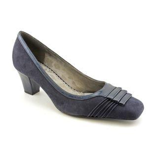 Renee Patrice Womens Size 10 Blue Regular Suede Pumps Classics Shoes
