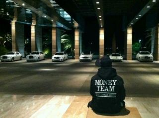 Money Team T Shirt MAYWEATHER Ray J Drake YMCMB Snap Back s M L Tshirt