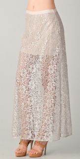 Haute Hippie Lace Maxi Skirt