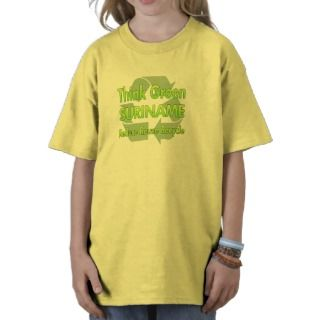 Think Green Suriname T shirts