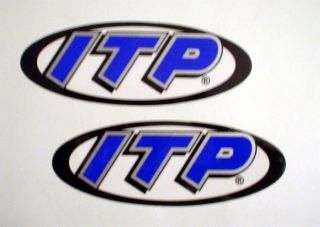ITP Wheels and Tire Racing Sponsor Stickers Decals IRONMAN GNCC Racing