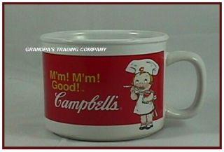 Campbells Soup Kids Mm Mm Good Chefs Ceramic Mug 2004
