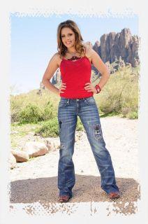 Cowgirl Tuff Jeans Love Strength Western Womens Denim J L S