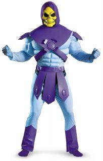 Masters of The Universe Skeletor Adult Halloween Costume Vacuform Mask