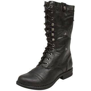 Madden Girl Zorbbaa   ZORBBAA BLK   Boots   Fashion Shoes