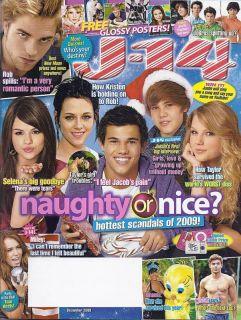14 Magazine Taylor Lautner Justin Bieber Taylor Swift