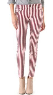 Genetic Denim Shya Striped Cigarette Jeans