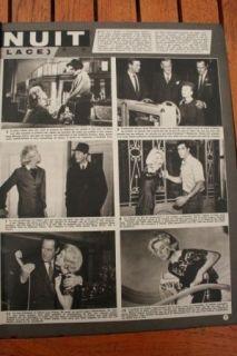 1960 Annie Cordy Spartacus Brigitte Bardot Doris Day