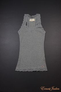 by Abercrombie Womens Jack Creek Sexy Lace Tank Top Tee M