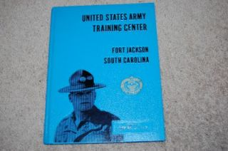 US Army Fort Jackson Recruit Training Center Yearbook