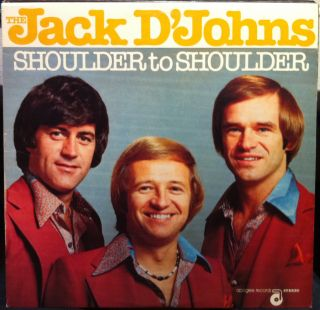 The Jack DJohns Shoulder to Shoulder LP Mint Private Rock Jazz