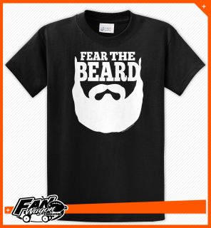 Fear The Beard Brian Wilson SF San Francisco Giants T Shirt Black