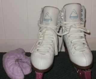Jackson Glacier 520 Premium Ice Skates Youth Girls Size 2
