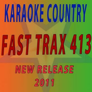 Country Karaoke FTXC413 Fast Trax CDG Original Factory Disc New