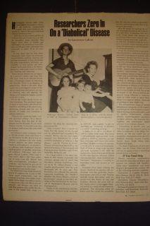 2911220SR Parade Magazine Jack Pardee Woody Guthrie MIA Farrow 17