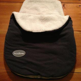 Cole Bundle Me Graphite Gray Car Seat Cover Winter Warm JJ Unisex