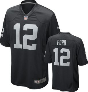 Oakland Raiders Jacoby Ford Mens Game Jersey