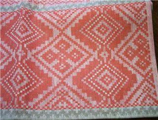New 100 Linen Jacquard Table Runner Ornamentalgray Red 19 5x 96