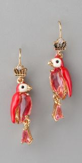 Juicy Couture Parrot Small Drop Earrings