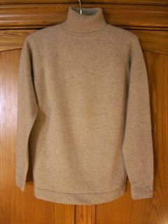 VTG JACQUES DE LOUX sweater M 38 beige 100% imported thick cashmere