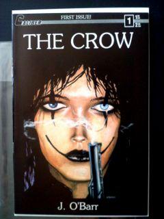 The Crow 1 Caliber Press 1st Print James OBarr First Print Excellent