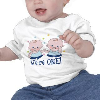 Were One Boys Birthday T shirt