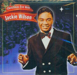 Jackie Wilson Christmas Eve with CD New Mint SEALED Soul R B