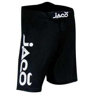 Jaco Clothing MMA UFC Resurgence Fight Black Board Shorts Sz 30 S