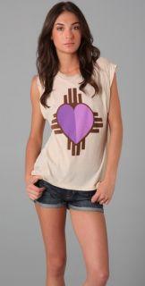Wildfox Cherokee Heart Dylan Tee