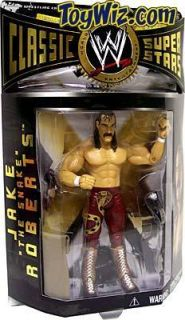 WWE Classic Superstars 3 Figure Jake The Snake Roberts