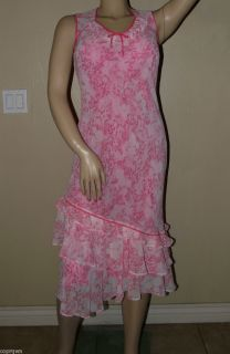 Jacques Vert Floral Print Dress Size 8 Asymetrical Easter Spring