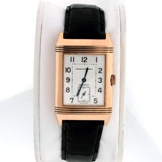 Jaeger LeCoultre Reverso Grande Taille $14 600 00 Day Night 18K Rose