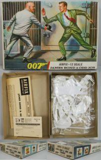 James Bond 007 Airfix Model 1966 Odd Job Fort Knox Complete Unstarted