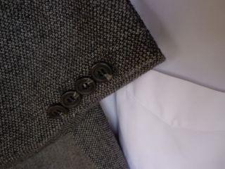 Chaps Ralph Lauren Gray 2 BT Wool Mens Blazer Jacket Sport Suit Coat