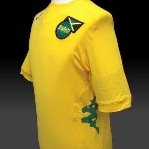 Jamaica Official Kappa Home Football Shirt 2012 13 New BNWT Soccer